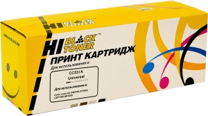 cc531a/ cartridge 718 cyan hi-black синий картридж аналог для hp clj cp2025, cm2320, canon lbp7200