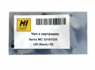 106r02310 чип hi-black картриджа xerox workcentre 3315/ 3325, 5k