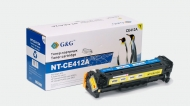 nt-ce412a g&g желтый картридж аналог ce412a для hp clj pro m375nw| m451dn| m451dw| m451nw| m475dn
